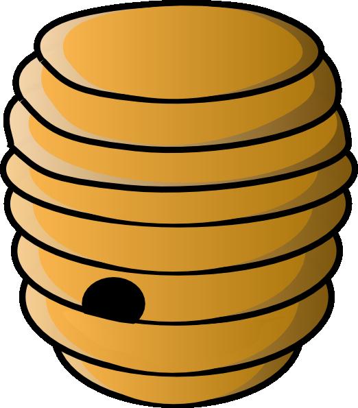 522x595 Beehive Clip Art
