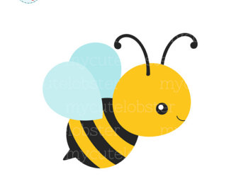 340x270 Bees Clipart Set Clip Art Set Of Bees Honey Beehive Cute
