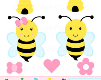 340x270 Bees Clipart Honey Bees Clip Art Spring Bumblebees