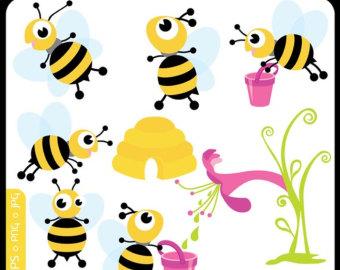 340x270 Honey Clipart Busy Bee