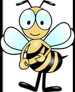 246x300 88 Honey Bee Clip Art Free Public Domain Vectors