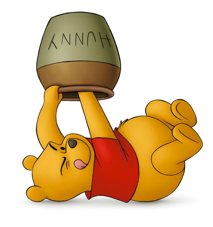 714x760 Graphics For Winnie The Pooh Honey Pot Graphics