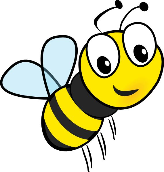 570x596 Bumble Bee Clip Art Bumble Bee Honey Bee Cartoon Bee Clip Art