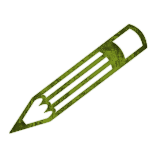 512x512 Narrow Detailed Pencil (Pencils) Icon