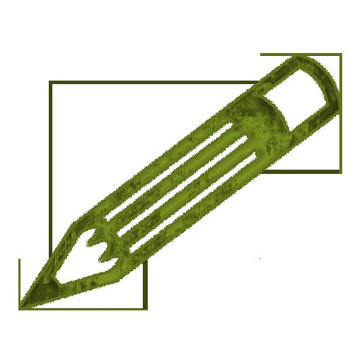 512x512 Narrow Detailed Pencil (Pencils) Icon