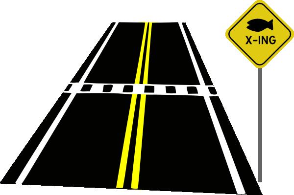 600x399 Road Clip Art
