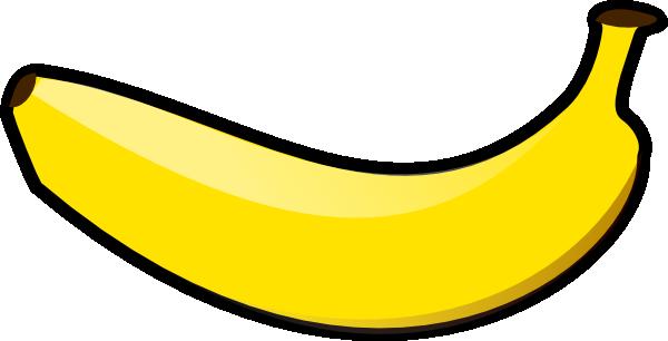 600x306 Banana Clipart