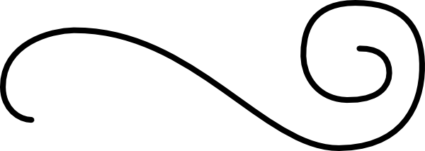600x213 Flourish One, Horizontal Clip Art