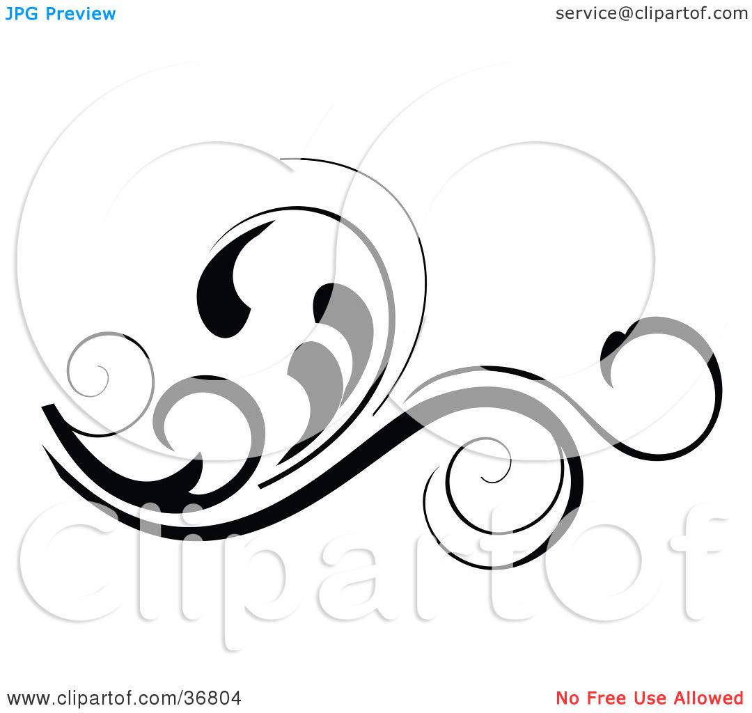 1080x1024 Pretty Scroll Clip Art