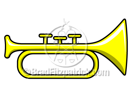 432x324 Cartoon Horn Clip Art Horn Graphics Clipart Horn Icon Vector