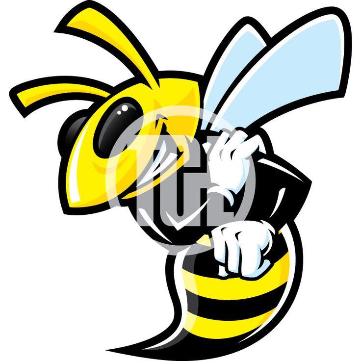 Hornet Clipart Mascots
