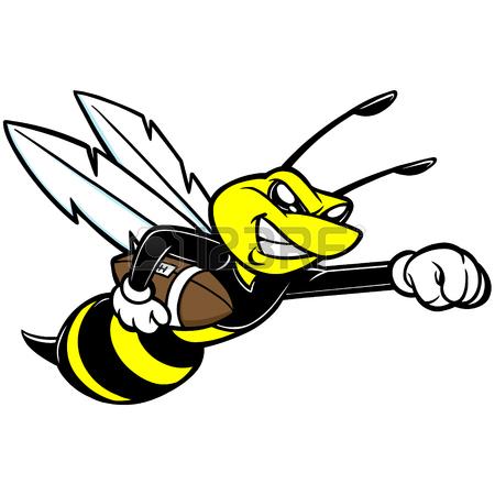 Hornet Mascot Clipart