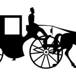 150x150 Horse Carriage Clipart Horse And Carriage Funeral Image Clipart