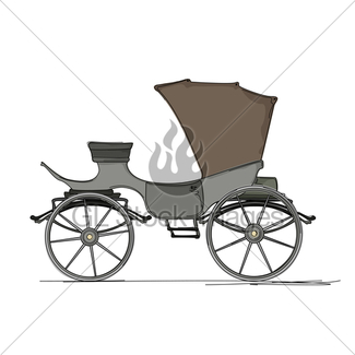 325x325 Horse Drawn Carriages Gl Stock Images
