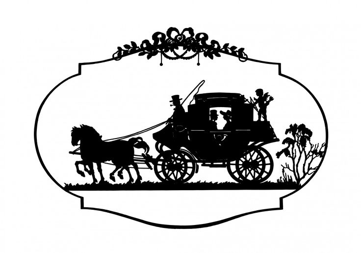 736x515 Horse Amp Carriage Vintage Clipart Free Stock Photo Hd
