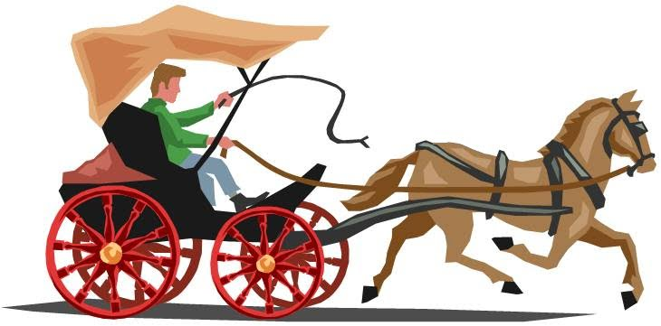 730x361 Horse Drawn Carriage Clipart Indian