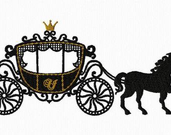 340x270 Horse Drawn Carriage Clipart Princess
