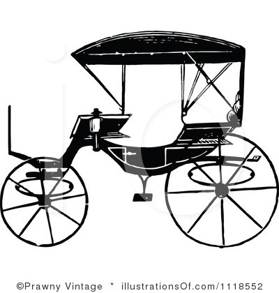 400x420 Carriage Clipart