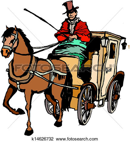 428x470 Cart Clipart Horse Vehicle