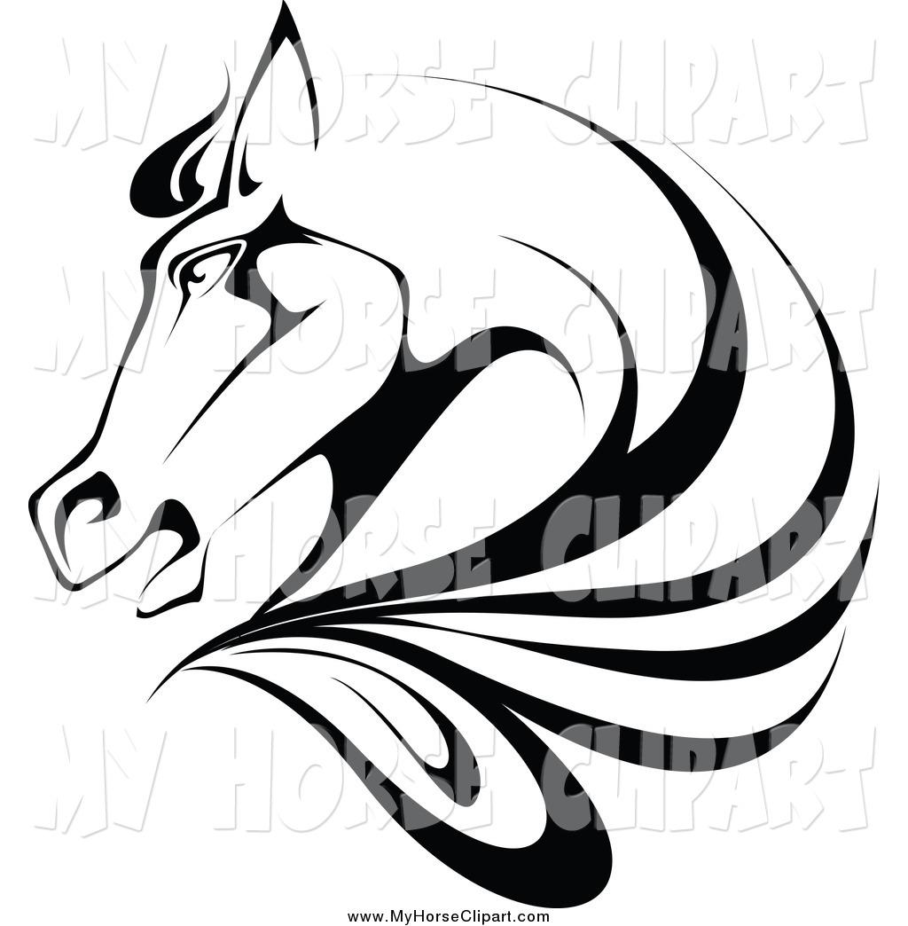 1024x1044 Stock Horse Head Clipart