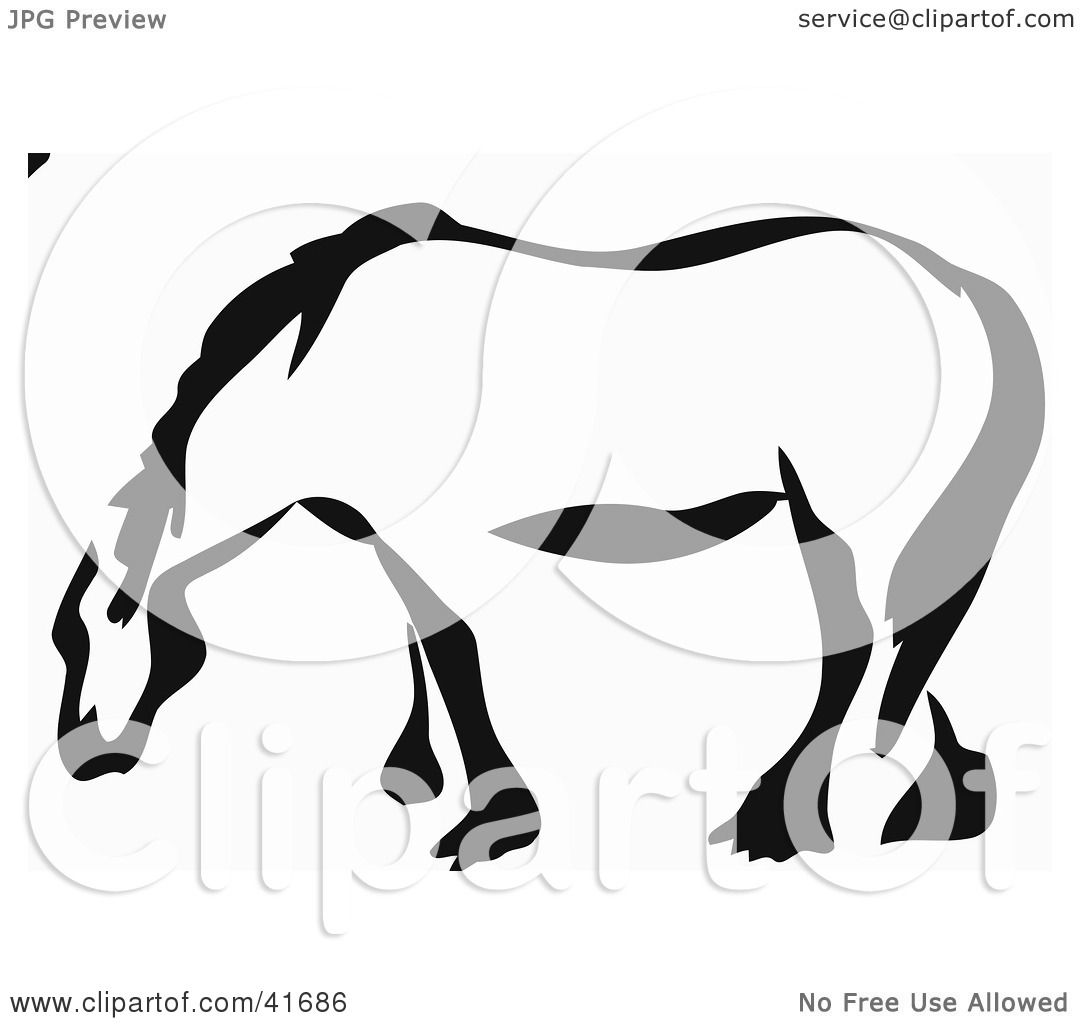 1080x1024 Clipart Illustration Of A Black And White Paintbrush Stroke Styled