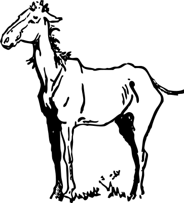 363x400 Free Horse Clipart, 3 Pages Of Public Domain Clip Art