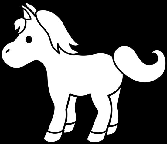 550x474 Horse Clip Art Black And White Dromfgk Top