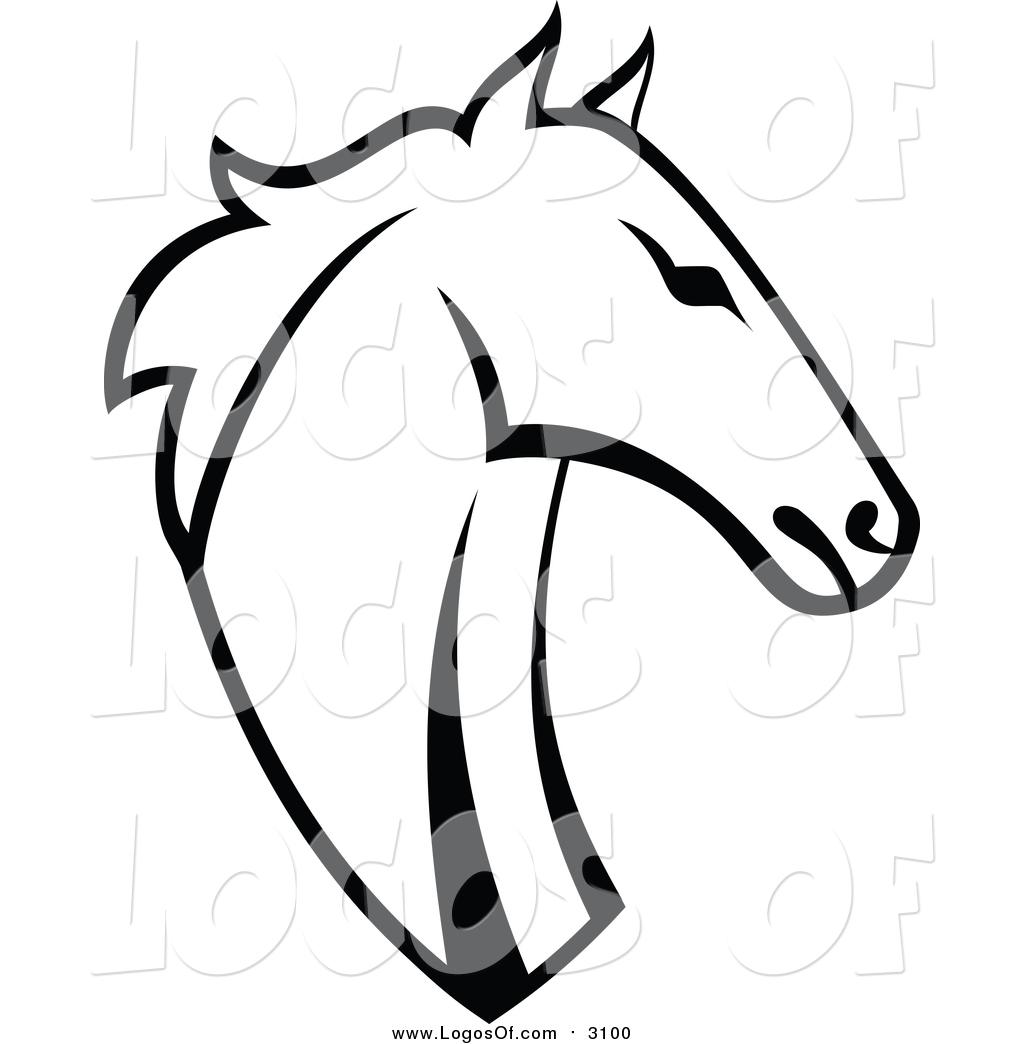 1024x1044 Vector Clipart Of A Horse Head