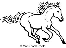 265x194 Galloping Horse Clip Art Cliparts