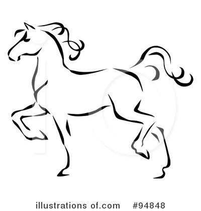 400x420 Horse Clipart