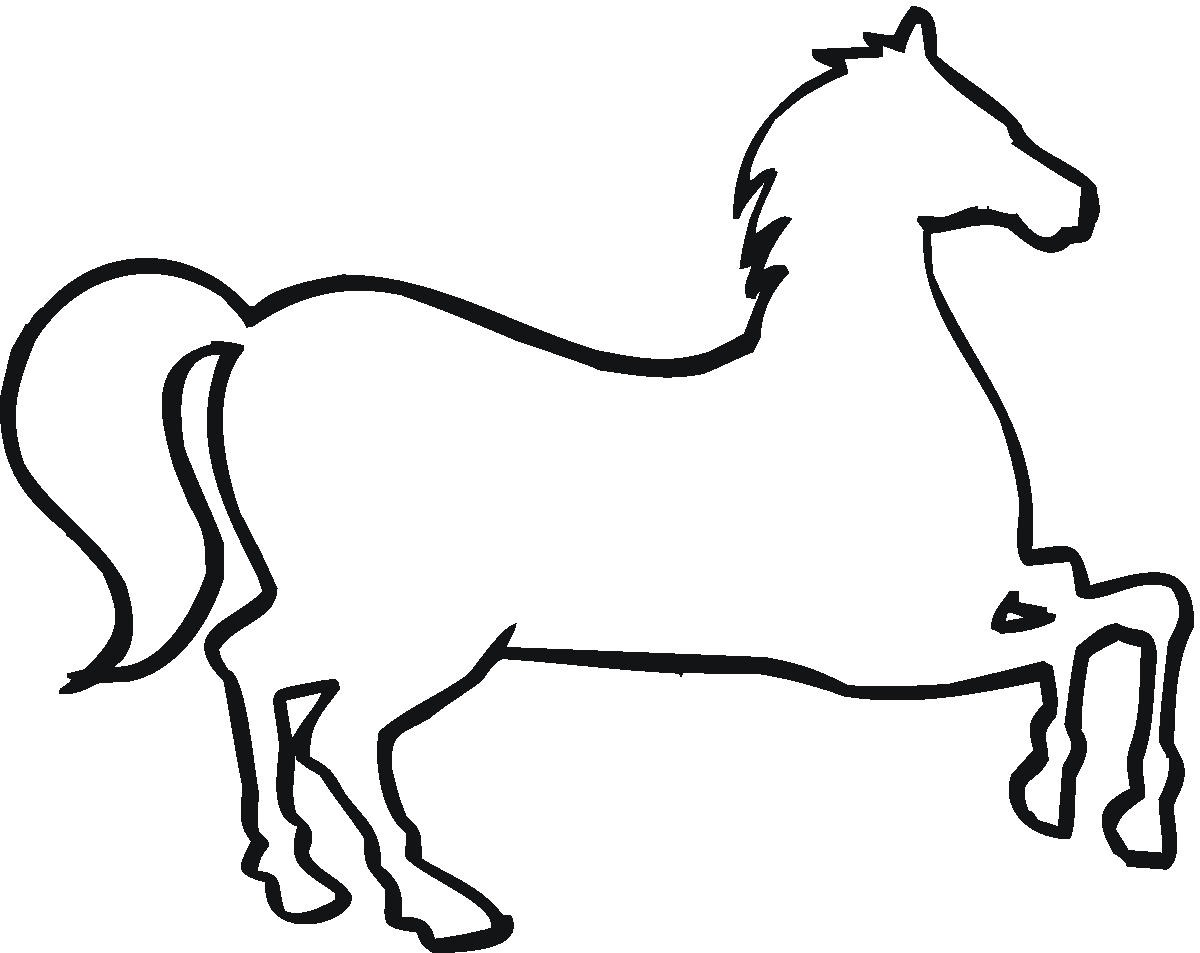 1200x953 Horse Clipart Outline Drawing