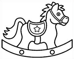 257x206 Rocking Horse Clip Art Many Interesting Cliparts