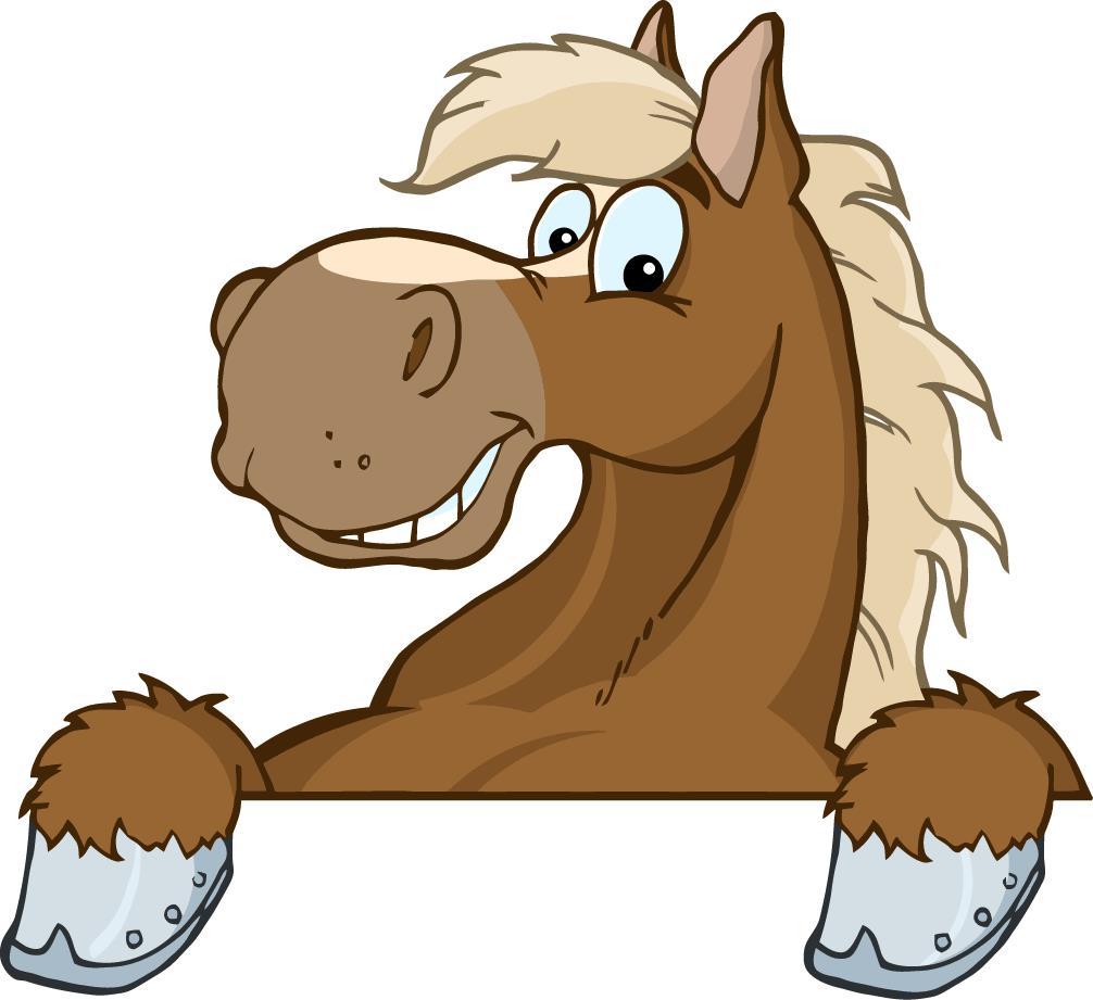 1006x921 Cartoon Horse Head Clipart
