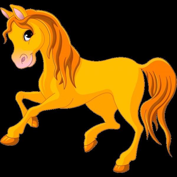 600x600 Clip Art Horses