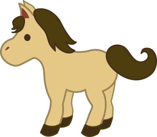 550x478 Cream Colored Pony Clip Art Sticken Clip Art, Pony