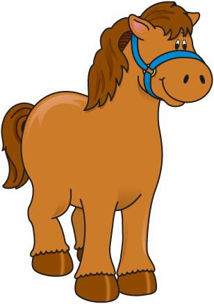308x438 Farm Horse Clipart