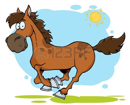 450x365 31,810 Horse Cartoon Stock Vector Illustration And Royalty Free
