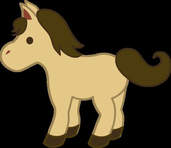 550x478 Cute Cream Colored Pony