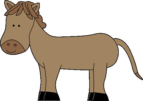 500x352 Cute Horse Clip Art