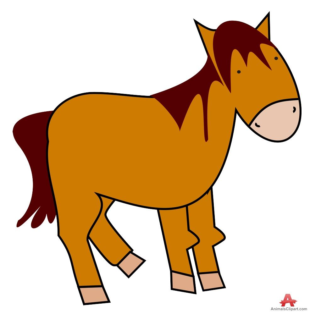 986x999 Horse Cartoon Clipart Free Clipart Design Download