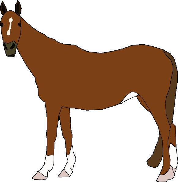 582x596 Horse Clip Art