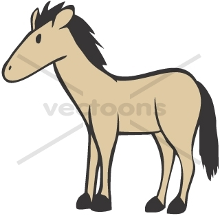 320x314 Baby Horse Cartoon