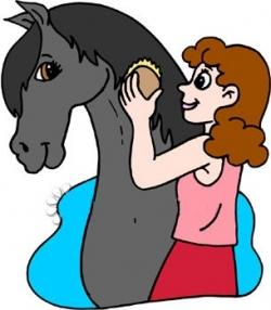 250x286 Brush Clipart Horse