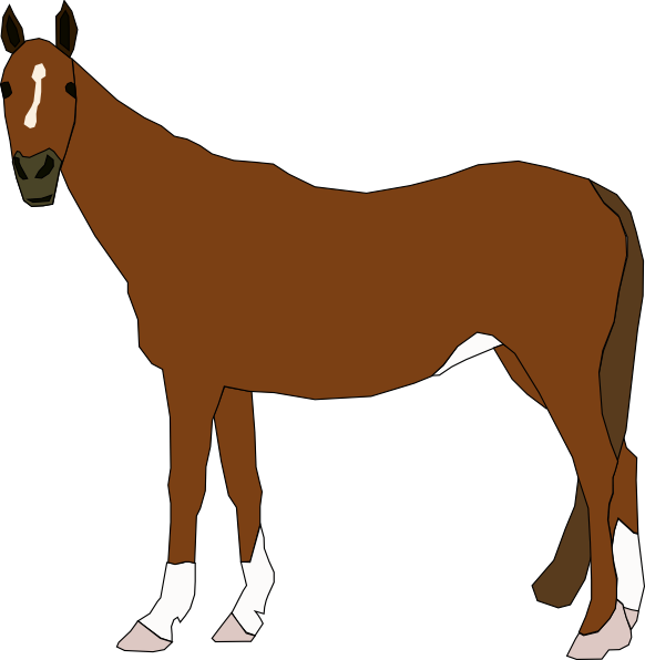 582x596 Free horse clipart clip art pictures graphics illustrations 2