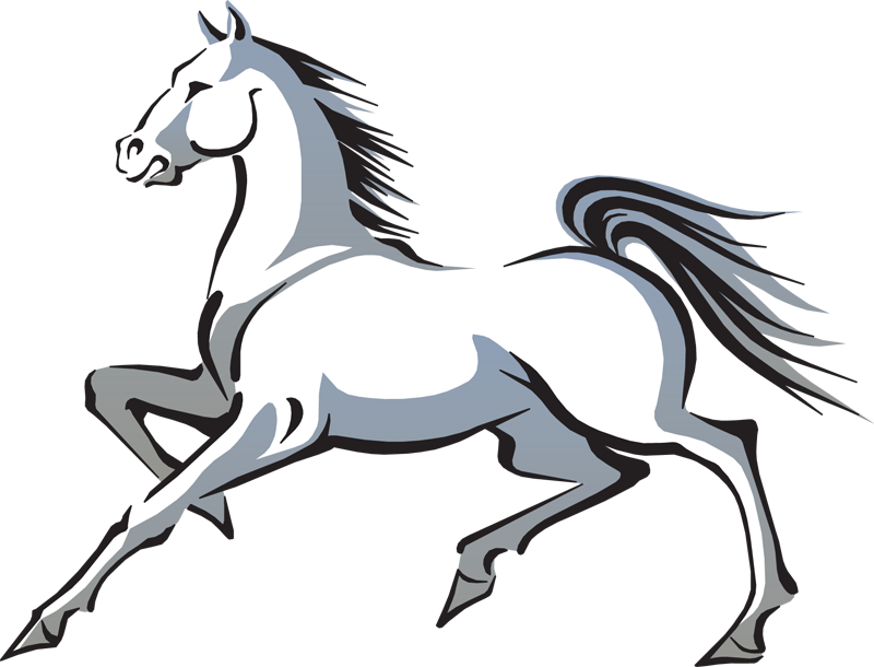 800x610 Horse Clip Art Black And White Free Clipart Images