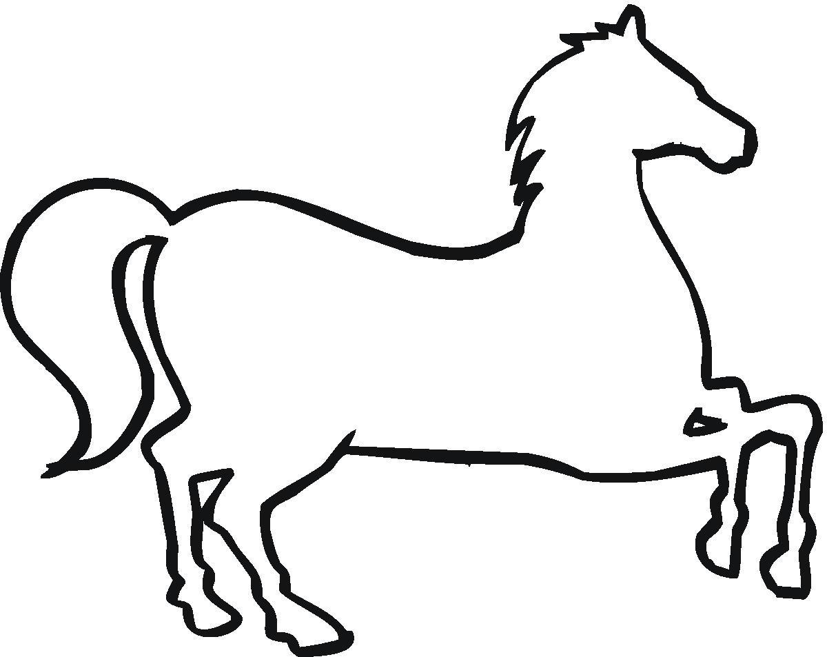 1200x953 Horse Outline Clip Art Clipart