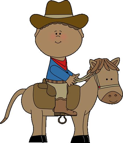 431x500 Free Cowboy Clipart Image