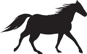 288x179 Free Horse Clip Art