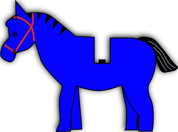 600x444 Horse Lego Clip Art Free Vector In Open Office Drawing Svg ( Svg
