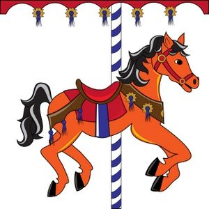 300x300 Carneval Clipart Horse Carousel
